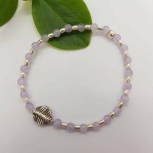 Lavender Amethyst & HTS Bracelet