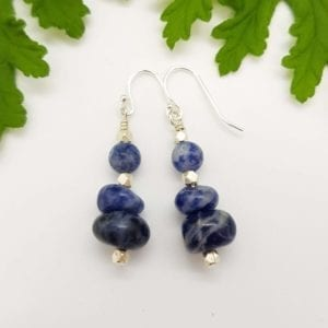 Sodalite HTS earrings